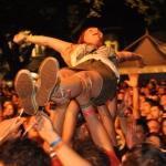 koncert ameriških punkrockerjev NOFX na festivalu Punk Rock Holiday 1.4, Tolmin