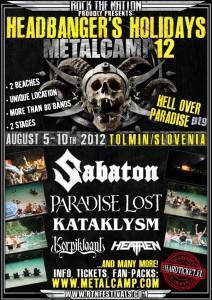 Metalcamp 2012 bo! Potrjeni prvi nastopajoči