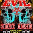 God of Fuck Rob Zombie in šok rocker Marilyn Manson sta naznanila, da bosta združila moči in šla na skupno turnejo. 8. decembra se bosta ustavila tudi na Dunaju.