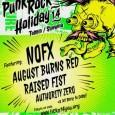 Prihajajo NOFX, August Burns Red, Raised Fist in Authority Zero.