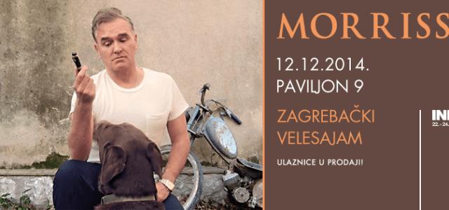 INmusic je javil, da se koncert Stephena Patricka Morrisseya premika za en dan, na 12. december