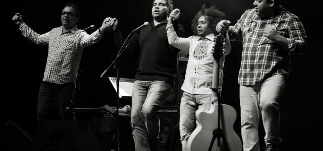 V Cankarjevem domu je nastopil brazilski glasbenik  Chico César iz Paraibe