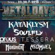 Organizator festivala MetalDays, ki se bo letos odvijal med 22.07. in 28.07. v Tolminu je listi nastopajočih skupin dodal še nekaj novih imen.