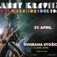 Ljubljana bo aprila utripala v ritmu vrhunske rock glasbe. K nam se vrača svetovna rockerska zvezda – multiinstrumentalist, eden in edini - Lenny Kravitz!