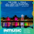 Prva napovedana imena na festivalu INmusic so: The Cure, Foals, LP, Kurt Vile, Frank Turner, Peter Bjorn and John