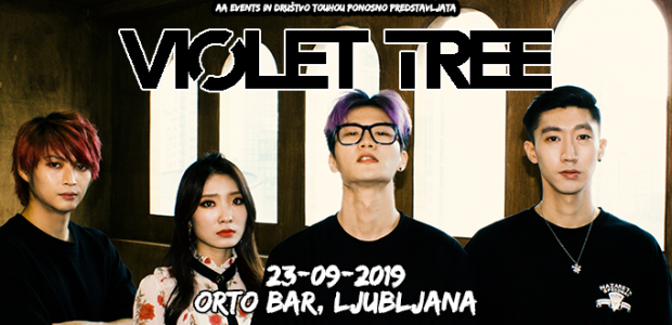 Društvo Touhou in AA Event ponosno predstavljata: VIOLET TREE Korejska K-Rock/Pop zasedba Violet Tree se ponovno vrača v Orto Bar! Tokrat bodo nastopili v ponedeljek dne 23.09.2019. Zasedba je bila […]